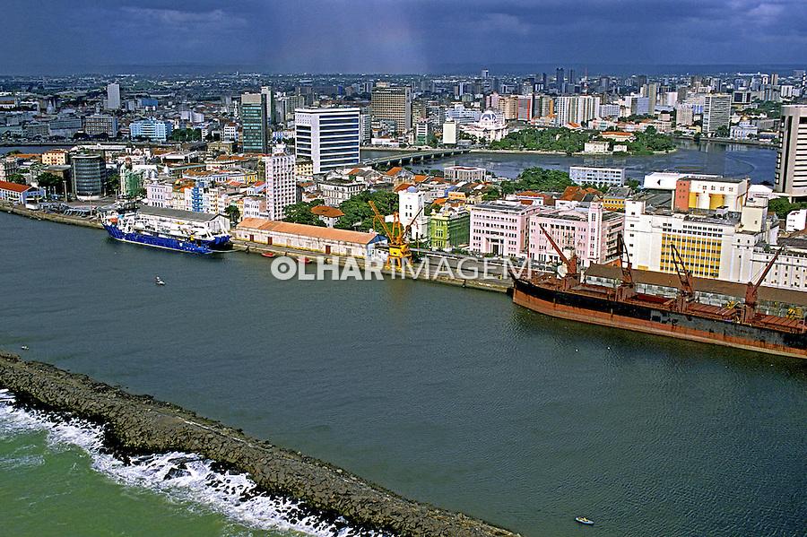 Porto de Recife, Pernambuco. 2002. Foto de Renata Mello.