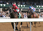 April 11, 2015:  Protonico and jockey Javier Castellano win the 85th running of The Ben Ali Grade 3 $150,000 at Keeneland Race Course for owner Sumaya U.S. Stable and trainer Todd Pletcher .   Candice Chavez/ESW/CSM