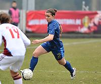France U19 - Russia U19 :  French Aurelie Gagnet .foto DAVID CATRY / Nikonpro.be