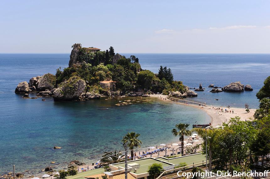 Küste bei Taormina, Sizilien, Italien