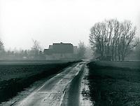 Marsch bei Wedel, Schleswig-Holstein, Deutschland 1977