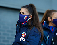 Brooke Chaplen of Reading arrives to the stadium during Tottenham Hotspur Women vs Reading FC Women, Barclays FA Women's Super League Football at the Hive Stadium on 7th November 2020