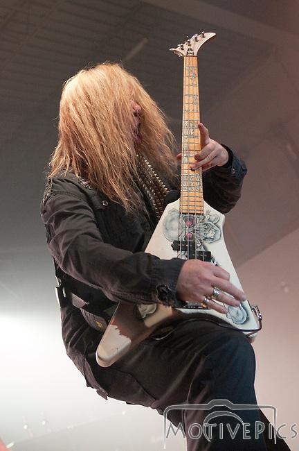 Vince Neil playing at Black Diamond Harley Davidson.