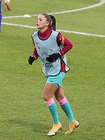 Lieke Martens (22 Barcelona) warms up before a female soccer game between PSV Eindhoven Vrouwen and Barcelona, in the round of 32, 1st leg of Uefa Womens Champions League of the 2020 - 2021 season , Wednesday 9th of December 2020  in , Eindhoven, the Netherlands. PHOTO SPORTPIX.BE | SPP | SEVIL OKTEM