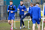 St Johnstone Training... 02.03.21<br />Captain Jason Kerr back in training ahead of tomorrow's game against Hamilton Accies after winning the BETFRED Cup on Sunday.<br />Picture by Graeme Hart.<br />Copyright Perthshire Picture Agency<br />Tel: 01738 623350  Mobile: 07990 594431