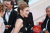 Julie Gayet attend 'The Unknown Girl (La Fille Inconnue)' Premiere during the 69th annual Cannes Film Festival at the Palais des Festivals on May 18, 2016 in Cannes, France