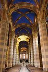 Italien, Piemont, Casale Monferrato: Duomo San Evasio - innen | Italy, Piedmont, Casale Monferrato: Duomo San Evasio - inside