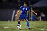 Miami, FL - Tuesday, October 15, 2019:  Jonathan Lewis #7 during a friendly match between the USMNT U-23 and El Salvador at FIU Soccer Stadium.