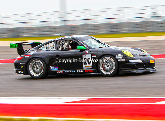 Jason Godfrey (26) in action during the V8 Supercars and the Porsche GT3 Cup cars practice sessions at the Circuit of the Americas race track in Austin,Texas. ..