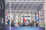 Chile vs Germany during their Semi-final match as part of the HSBC Hong Kong Rugby Sevens 2017 on 09 April 2017 in Hong Kong Stadium, Hong Kong, China. Photo by Marcio Rodrigo Machado / Power Sport Images