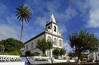 Kirche in Lomba auf der Insel Flores, Azoren, Portugal