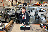 17 year-old apprentice IT Practitioner on placement at Airedale Computers, a computer recycling business run by social enterprise Chrysalis, Castleford, South Yorkshire.  Income from Airedale Computers and Airedale Motors finances Chrysalis's training porgrammes.