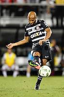 Orlando, FL - Saturday Jan. 21, 2017: Corinthians midfielder Fellipe Bastos (35) during the second half of the Florida Cup Championship match between São Paulo and Corinthians at Bright House Networks Stadium. The game ended 0-0 in regulation with São Paulo defeating Corinthians 4-3 on penalty kicks