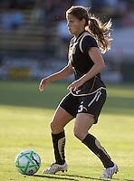 Tina DiMartino controls the ball. LA Sol and FC Gold Pride tied 0-0 at Buck Shaw Stadium in Santa Clara, California on July 23, 2009.