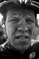 Jasper Stuyven (BEL/Trek Factory Racing) post-race face<br /> <br /> Paris-Roubaix 2014
