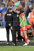 during the FIFA Women's World Cup qualifier between Wales and Bosnia-Herzegovina at the Liberty stadium, Swansea on Thursday June 7th 2018<br /> <br /> <br /> Jeff Thomas Photography -  www.jaypics.photoshelter.com - <br /> e-mail swansea1001@hotmail.co.uk -<br /> Mob: 07837 386244 -