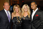 Steve Kuntz, Courtney Zubowski, Stevie Bingham and Aashish Kiran Shah at the Health Museum Casino Party at the Four Seasons Hotel Saturday Aug. 15, 2009.(Dave Rossman/For the Chronicle)