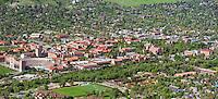 University of Colorado Boulder campus. May 2013