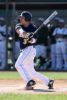 February 28, 2010:  Catcher Coley Crank of the Michigan Wolverines during the Big East/Big 10 Challenge at Raymond Naimoli Complex in St. Petersburg, FL.  Photo By Mike Janes/Four Seam Images