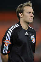 DC United defender Bryan Namoff (26). DC United defeated Harbour View 5-0 (6-1 on aggregate) in the second leg of the CONCACAF Champions' Cup quarterfinal series at RFK Stadium in Washington D. C. on March 18, 2008.