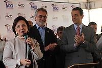 MOGI DAS CRUZES,SP,SEXTA FEIRA 02 DE DEZEMBRO 2011,INAUGURAÇÃO UNIDADE AACD MOGI DAS CRUZES,Hoje foi inaugurada a uma unidade da AACD em Mogi Das Cruzes na grande SP nesta sexta(02),a secretária  de estado dos direitos da pessoa com deficiência Linamara Rizo representou o Governador Geraldo Alckimin junto com o presidente voluntario da AACD Eduardo Almeida Carneiro e o prefeito de Mogi Das Cruzes Marco Aurélio Bertaioli  e demais autoridades,FOTO:WARLEY LEITE/NEWS FREE