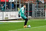 17.10.2020, Schwarzwald Stadion, Freiburg, GER, 1.FBL, SC Freiburg vs SV Werder Bremen<br /> <br /> im Bild / picture shows<br /> Jiri Pavlenka (Werder Bremen #01)  beim warmmachen<br /> <br /> <br /> Foto © nordphoto / Bratic<br /> <br /> DFL REGULATIONS PROHIBIT ANY USE OF PHOTOGRAPHS AS IMAGE SEQUENCES AND/OR QUASI-VIDEO.