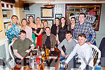 The staff from the Fishermans bar Portmagee enjoying their New Years party in the Porterhouse restaurant Killarney on Friday night