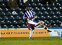 18/01/2011   Copyright  Pic : James Stewart.sct_jsp012_kilmarnock_v_hearts  .:: STEPHEN ELLIOT SCORES HEARTS FIRST WITH AN OVERHEAD KICK ::.James Stewart Photography 19 Carronlea Drive, Falkirk. FK2 8DN      Vat Reg No. 607 6932 25.Telephone      : +44 (0)1324 570291 .Mobile              : +44 (0)7721 416997.E-mail  :  jim@jspa.co.uk.If you require further information then contact Jim Stewart on any of the numbers above.........