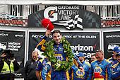 Verizon IndyCar Series<br /> IndyCar Grand Prix at the Glen<br /> Watkins Glen International, Watkins Glen, NY USA<br /> Sunday 3 September 2017<br /> Winner Alexander Rossi, Curb Andretti Herta Autosport with Curb-Agajanian Honda, podium<br /> World Copyright: Michael L. Levitt<br /> LAT Images