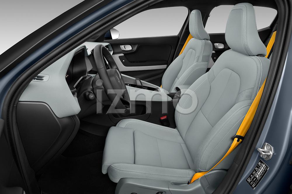 Front seat view of 2020 Polestar Polestar-2 Pilot-Plus 5 Door Hatchback Front Seat  car photos