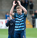 Forfar's Darren Dods at the end of the game.