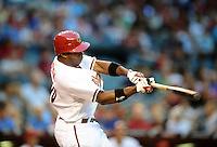 May 11, 2010; Phoenix, AZ, USA; Arizona Diamondbacks outfielder Justin Upton against the Los Angeles Dodgers at Chase Field. Mandatory Credit: Mark J. Rebilas-