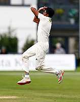 Jas Singh bowls for Kent during Kent CCC vs Sussex CCC, LV Insurance County Championship Group 3 Cricket at The Spitfire Ground on 13th July 2021