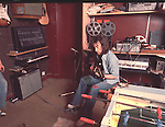 Roger Glover 1975 at home.