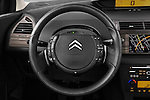 Steering wheel view of a2009 Citroen C4 Executive 5 Door Hatchback