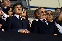 Real Madrid's President Florentino Perez (r) during La Liga match. August 20,2017.  *** Local Caption *** © pixathlon