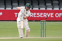 Ben Slater in batting action for Nottinghamshire during Essex CCC vs Nottinghamshire CCC, LV Insurance County Championship Group 1 Cricket at The Cloudfm County Ground on 6th June 2021