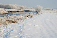 De Mark in de winter