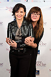 """French actress Juliette Binoche (L) and spanish director Isabel Coixet during the presentation of the film """"Nadie quiere la noche"""" in Madrid, November 02, 2015. <br /> (ALTERPHOTOS/BorjaB.Hojas)"""