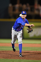 St. Lucie Mets pitcher Robert Coles (30) delivers a pitch during a game against the Bradenton Marauders on April 11, 2015 at McKechnie Field in Bradenton, Florida.  St. Lucie defeated Bradenton 3-2.  (Mike Janes/Four Seam Images)