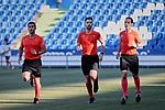Getafe CF's {persons} during Preseason match between Getafe CF and Crotone FC at Colisseum Alfonso Perez in Getafe, Spain. August 02, 2019. (ALTERPHOTOS/A. Perez Meca)