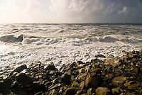 Wild Tasman Sea in Bruce Bay - West Coast, South Westland, New Zealand