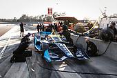 #48 Jimmie Johnson, Chip Ganassi Racing Honda, pit stop