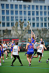 FRANKFURT AM MAIN, GERMANY - April 14: ?uring the Deutschland Lacrosse International Tournament match between Germany vs Great Britain during the on April 14, 2013 in Frankfurt am Main, Germany. Great Britain won, 10-9. (Photo by Dirk Markgraf)