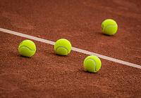 Netherlands, September 27,  2020, Beneden-Leeuwen, TV Lewabo, Competition Men's, Men's premier league, Balls<br /> Photo: Henk Koster/tennisimages.com