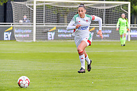 Amber Tysiak (3) of OHL pictured during a female soccer game between AA Gent Ladies and Oud Heverlee Leuven on the fourth matchday of play off 1 in the 2020 - 2021 season of Belgian Scooore Womens Super League , saturday 1 st of May 2021  in Oostakker , Belgium . PHOTO SPORTPIX.BE | SPP | STIJN AUDOOREN