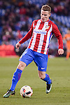 Atletico de Madrid's Kevin Gameiro during Copa del Rey match between Atletico de Madrid and SD Eibar at Vicente Calderon Stadium in Madrid, Spain. January 19, 2017. (ALTERPHOTOS/BorjaB.Hojas)