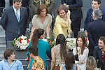 Queen Sofia of Spain during Madrid Open Tennis 2015 Final match.May, 10, 2015.(ALTERPHOTOS/Acero)