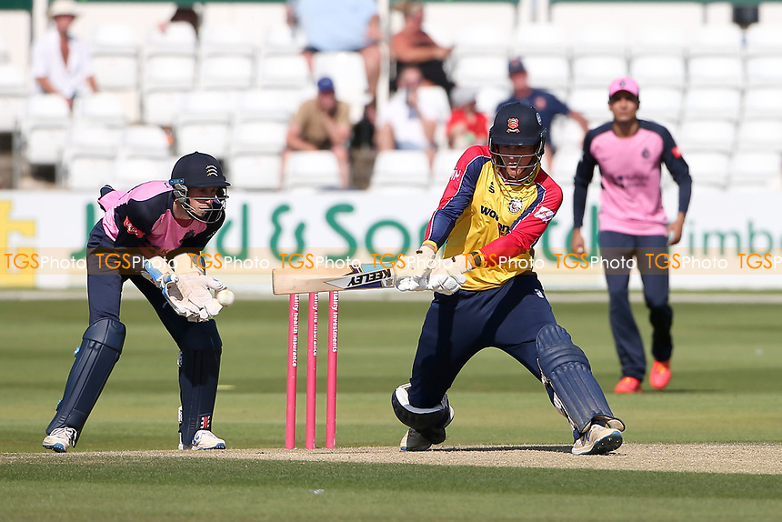 Michael Pepper in batting action for Essex during Essex Eagles vs Middlesex, Vitality Blast T20 Cricket at The Cloudfm County Ground on 18th July 2021