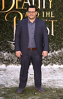"""Josh Gad<br /> arrives for the """"Beauty and the Beast"""" screening, St.James', London.<br /> <br /> <br /> ©Ash Knotek  D3234  23/02/2017"""